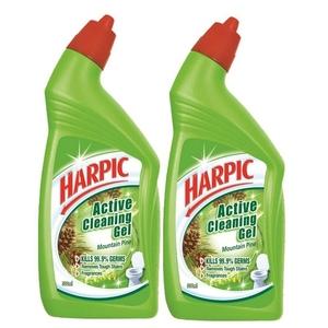 Harpic Toilet Cleaner Liquid Mountain Pine 2x750ml
