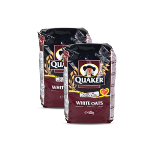 Quaker Oats Quick Cooking Twin Pack 2x500g