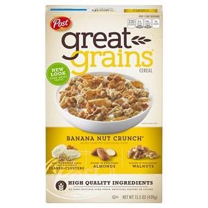 Post Grains Banana Nut 15.5oz