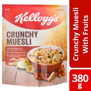 Kellogg's Crunchy Muesli Fruit 380g