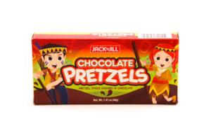 Jack & Jill Pretzels Chocolate 40g