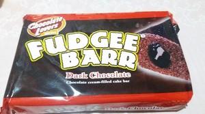 Fudgee Barr Cake Bar Dark Chocolate 420g