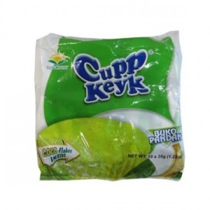 Cupp Keyk Cup Cake Buko Pandan 38g