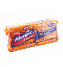 Jack&Jill Crackers Magic Flakes Cheese 28g
