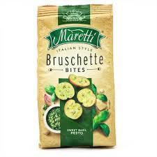 Maretti Bread Bites Sweet Basil Pesto 85g