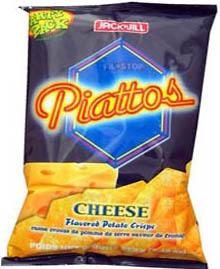 Jack&Jill Piattos Potato Crisps Cheese 212g