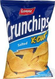 Lorenz Crunchips Xcut Salted 85g