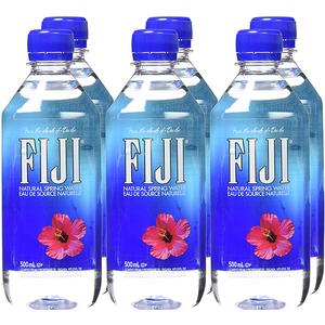 Fiji Natural Mineral Water 6x500ml