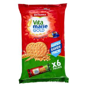 Britannia Biscuit Vita Marie Gold 6x140g