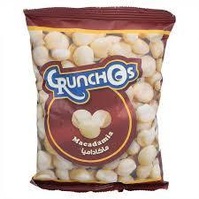 Crunchos Macadamia Salted Pouch 100g