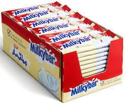 Nestle Milkybar Chocolate 54x12g