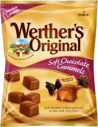 Werther's Original Candies Chocolate Toffee 100g