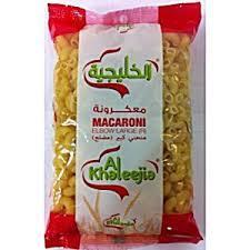 Al Khaleejia Macaroni Elbow Large 400g