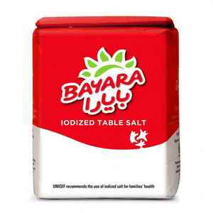 Bayara Table Salt Iodized 1kg