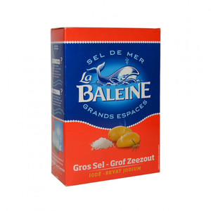 La Baleine Salt Iodized Box 1000g