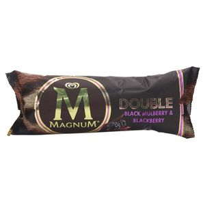 Magnum Ice Cream Double Black Mulberry & Blackberry 95ml