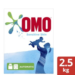 Omo Active Automatic Laundry Detergent Powder Sensitive Skin 2.5kg