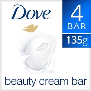 Dove Beauty Cream Bar White 4x135g