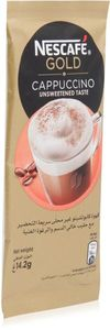 Nescafe Gold Cappuccino Unsweetened 14.2g