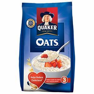 Quaker Oats Flakes Whole 400g