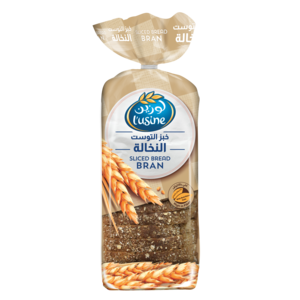 Luisine Bran Bread Sliced 615g