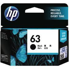 Hp Catridge 63 Black 1pcs