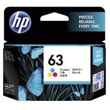 Hp Catridge 63 Color 1pcs
