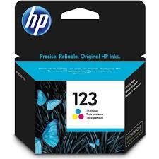 Hp Catridge 123 Color 1pcs