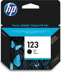 Hp Catridge 123 Black 1pcs