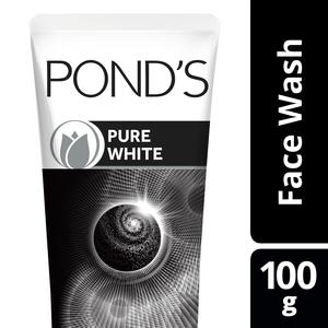 Ponds Face Wash Foam Pure White 100g