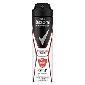 Rexona Men Antiperspirant Deodorant Antibacterial + Invisible 150ml