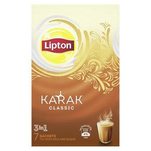 Lipton Karak 3In1 Instant Tea Classic 7Sachets