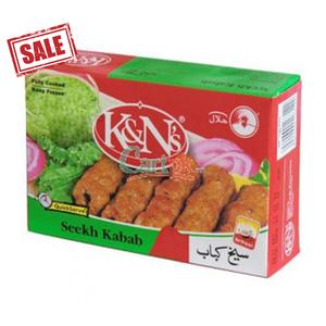 K&N Frozen Chicken Sheekh Kabab 32x205g