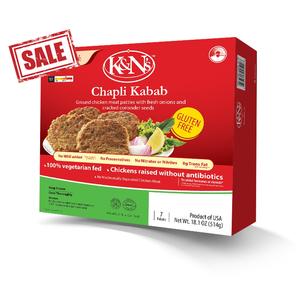 K&N Frozen Chapli Kabab 32x296g