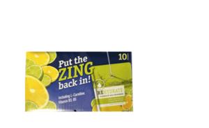 Sunblast Vitamin Water With Grapefruit & Lime 10x200ml