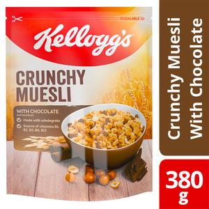 Kellogg's Crunchy Muesli Chocolate 380g
