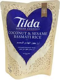 Tilda Rice Basmati Coconut & Seasame 250g