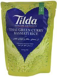 Tilda Rice Basmati Thai Green Curry 250g
