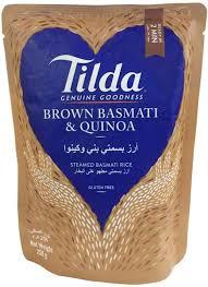Tilda Rice Brown Basmati & Quinoa 250g