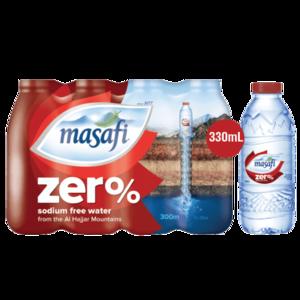 Masafi Drinking Water Zero 12x330ml