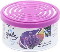 Glade Car Freshner Gel Lavender 70g