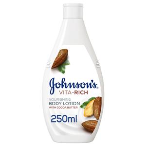 Johnson's Body Lotion Vita-Rich Nourishing Cocoa Butter 250ml