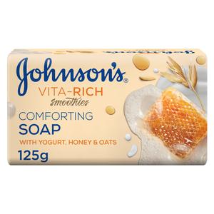Johnson's Vita-Rich Smoothies Yogurt Honey & Oats Comforting Soap 125g