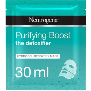 Neutrogena Face Mask Sheet The Detoxifier Purifying Boost Hydrogel Recovery 30ml