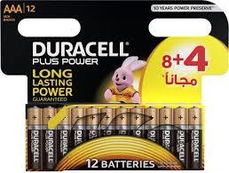 Duracell Battery Plus Power Aaa 8+4 Offer 1pkt
