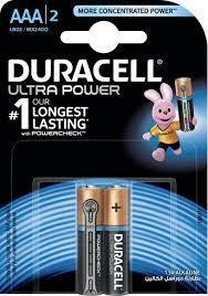 Duracell Battery Ultra Power Aaa2 1pkt