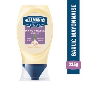 Hellmann's Garlic Mayonnaise 235g
