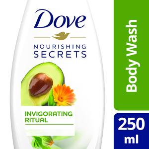 Dove Bodywash Invigorating Avocado 250ml
