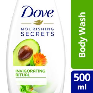 Dove Invigorating Body Wash Avocado 500ml