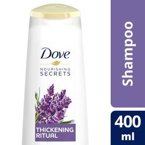 Dove Thickening Ritual Shampoo Lavender 400ml